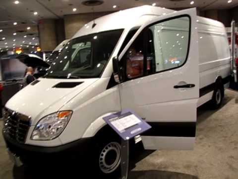 New York Auto Show 2010 - The Freightliner Sprinter...