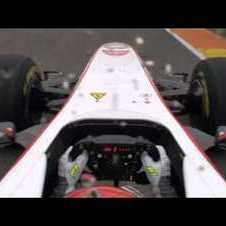 Onboard with the 2011 Sauber C30 in Valencia