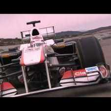 F1 - Sauber C30 launch - Shakedown in Valencia (Kamui Kobayashi) - Part 1/2