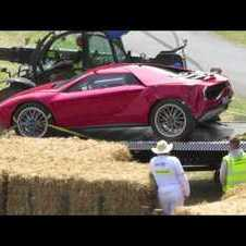 Goodwood Festival of Speed crash 2013