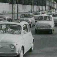 Historic images of the Fiat 500