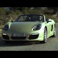 The new Boxster in motion