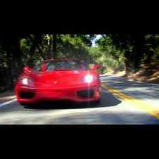 Ferrari 360 Modena Spider Showing Off