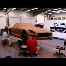 Mercedes-Benz TV: SLS AMG Black Series -- Clay modeling time lapse