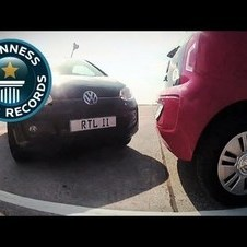 Tightest Parallel Park - NEW RECORD! - Guinness World Records Classics