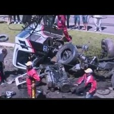 Formula Truck Crash in Brazil