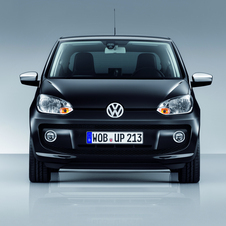 Volkswagen up!  1.0 black up! four-door