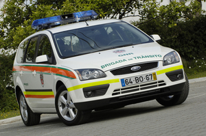 Ford Focus Police Car SW