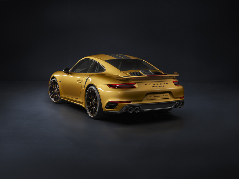 Porsche 911 Turbo S PDK Exclusive Series