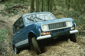 Renault R4 Sinpar four-wheel drive