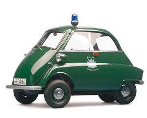 Isetta Police Vehicle